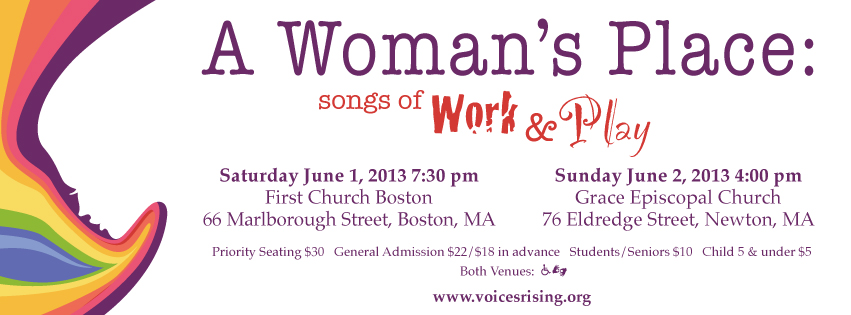 Join us for Women at Work and Play, June 1 and 2, 2013